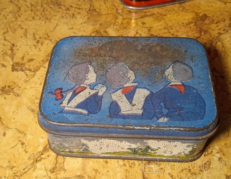 Разные жестяные коробочки. Лот 5 шт., фото №5