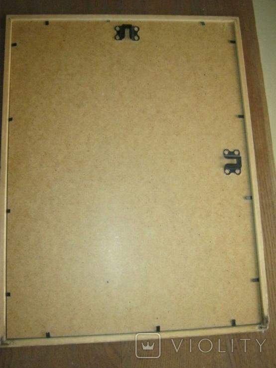Современный египетский папирус в рамке под стеклом, фото №9