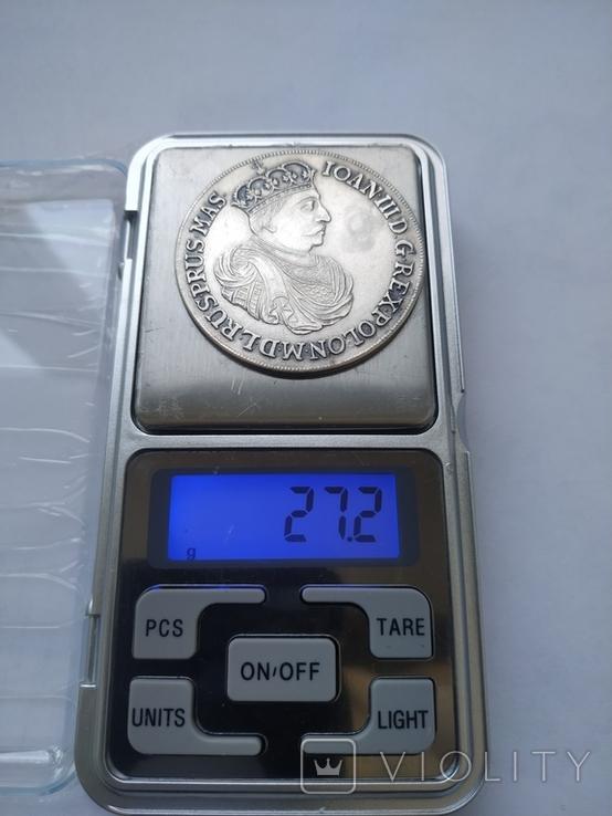 Таллер серебро 925. Копия., фото №2