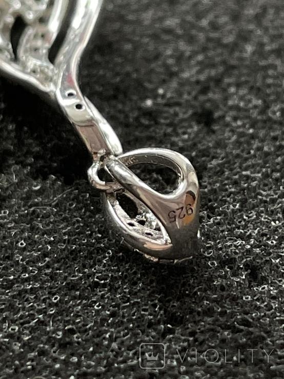 Серебряная подвеска, фото №4