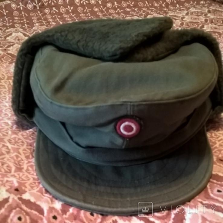 Зимняя военная шапка Австрия, фото №2