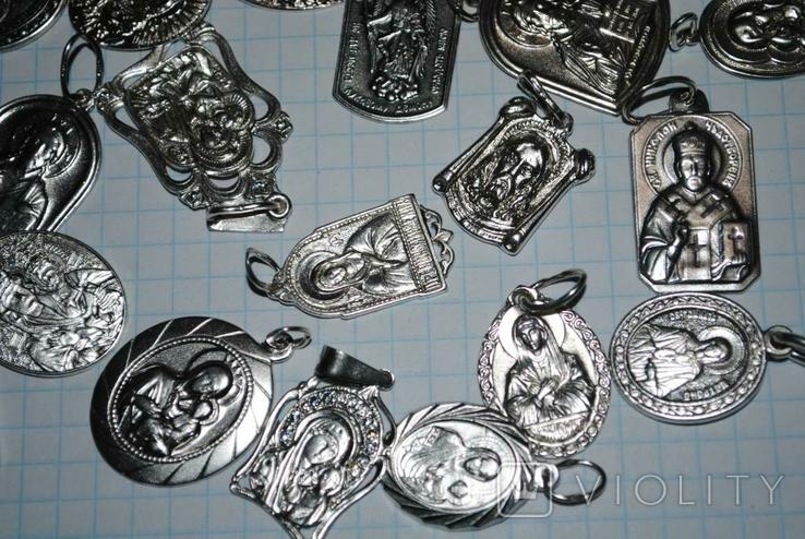 Ладанки серебро 100 грамм, фото №5