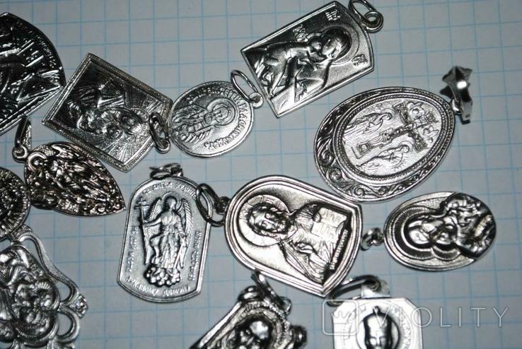Ладанки серебро 100 грамм, фото №6