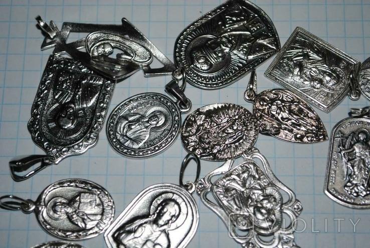 Ладанки серебро 100 грамм, фото №7
