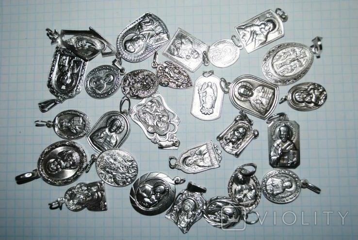 Ладанки серебро 100 грамм, фото №8