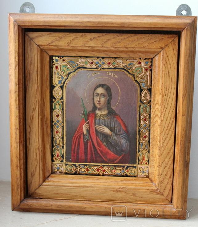 Икона св. Лидия именник, фото №2