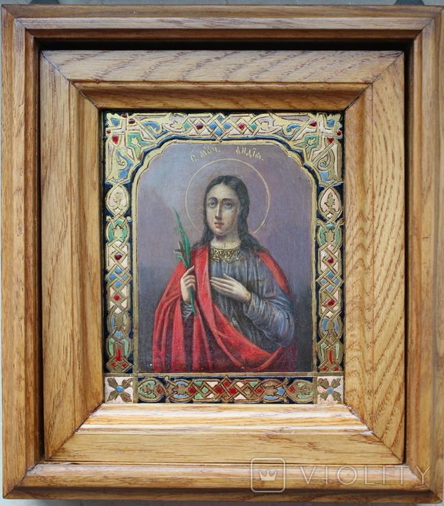 Икона св. Лидия именник, фото №4