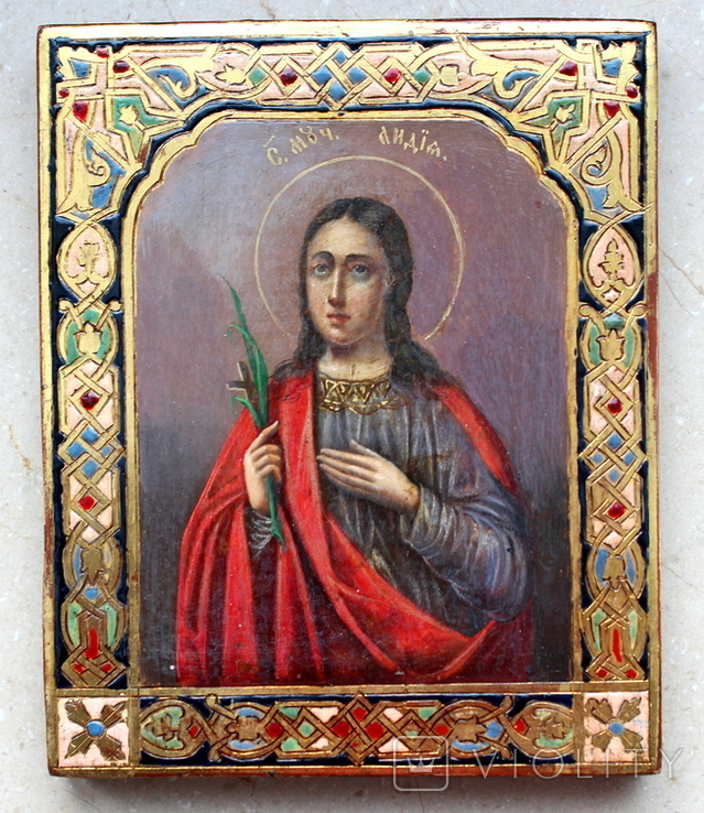 Икона св. Лидия именник, фото №5