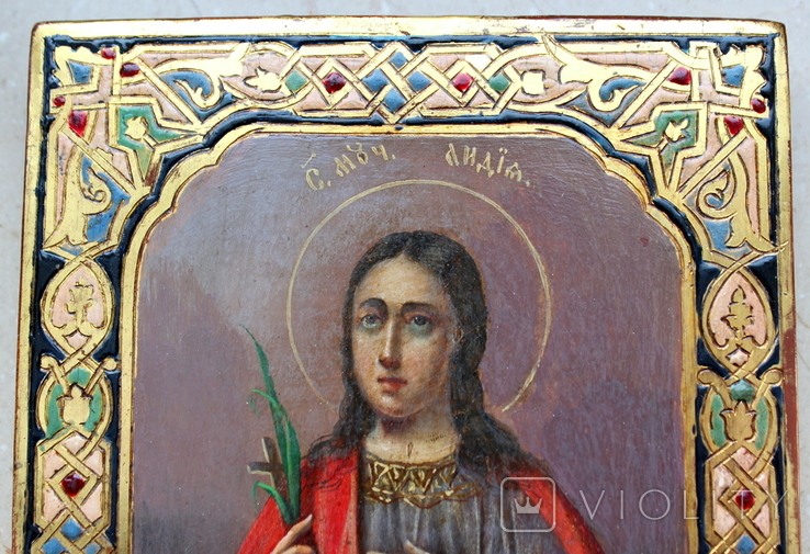 Икона св. Лидия именник, фото №6