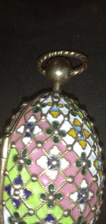 Пасхальное яйцо с финифтями, фото №5