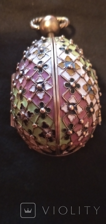 Пасхальное яйцо с финифтями, фото №8