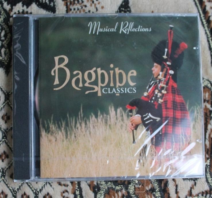 Новый CD  A.C. ROBERTS BAGPIPE CLASSICS, фото №2