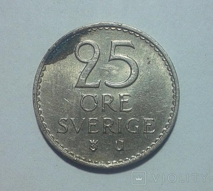 Швеция 25 эре 1973, фото №3
