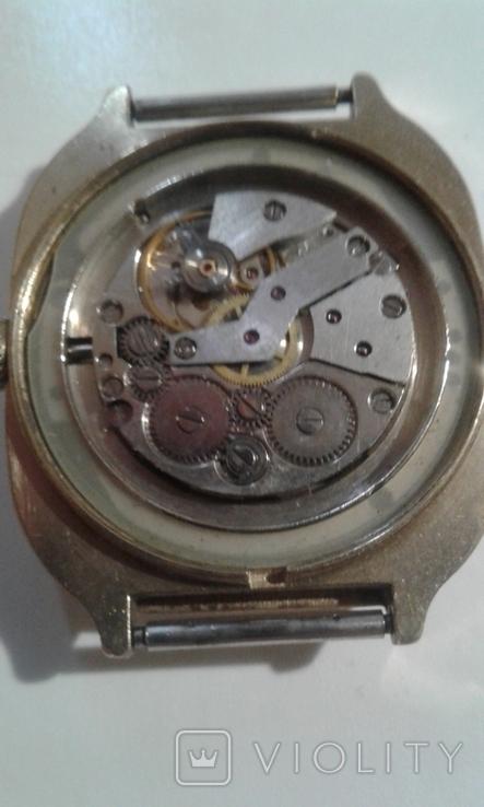 Часы наручные Слава 26 камней AU СССР, фото №3