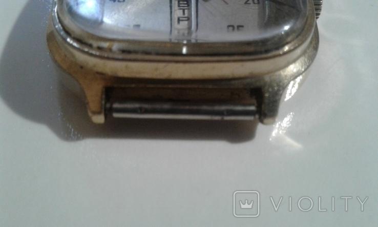 Часы наручные Слава 26 камней AU СССР, фото №5