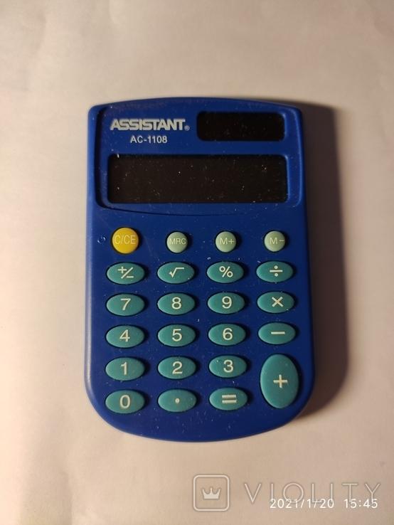 Калькулятор Assistant AC-1108. Рабочий., фото №2