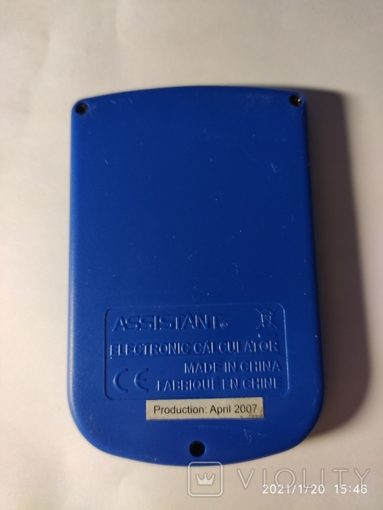 Калькулятор Assistant AC-1108. Рабочий., фото №3
