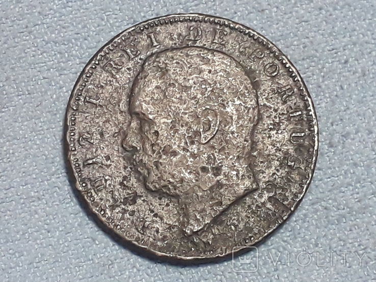 Португалия 10 реалов 1882 года, фото №3