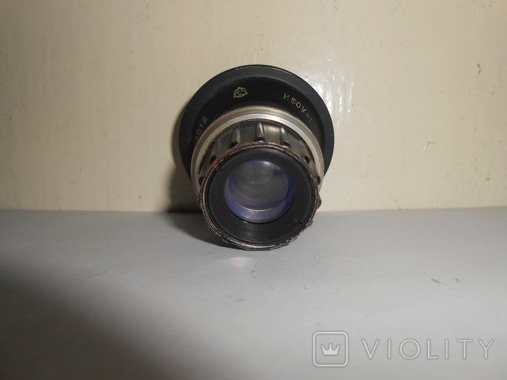 Объектив И50У-1 13,5 F50 мм №6012, фото №5