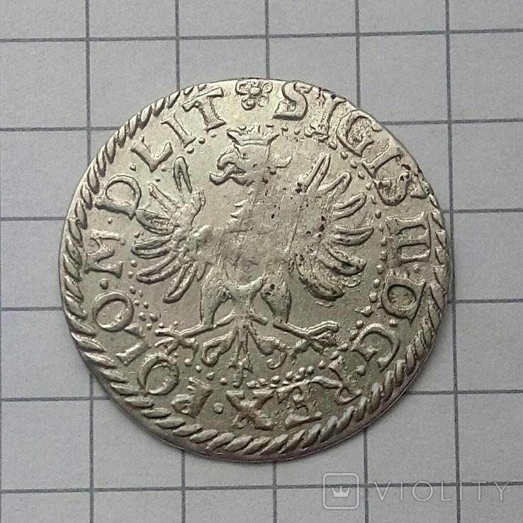 Литовський гріш 1614 року ( H-W ), фото №4