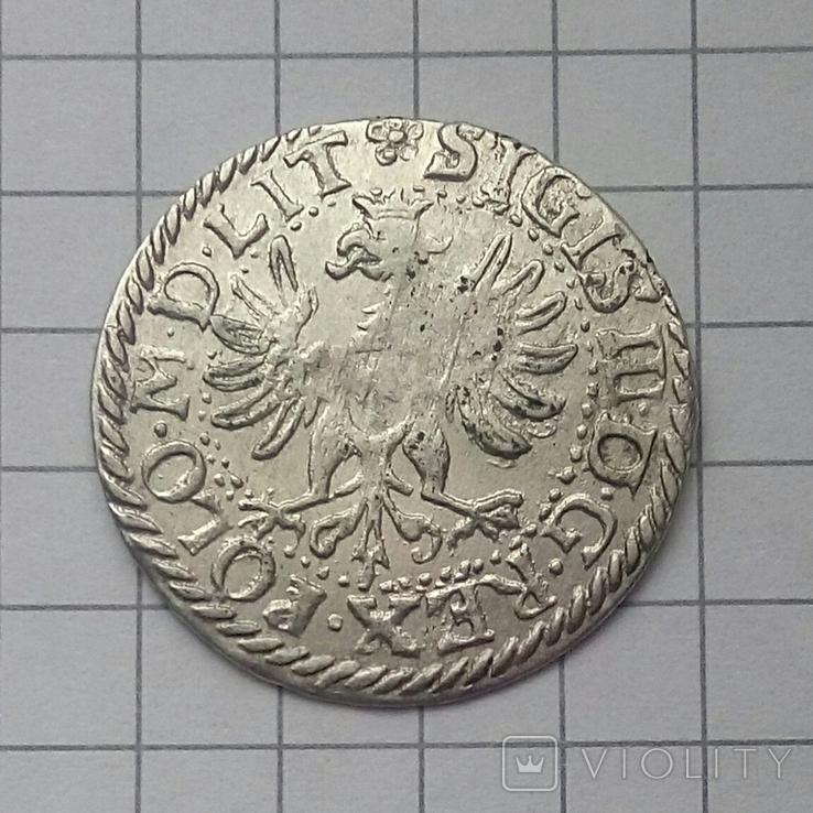 Литовський гріш 1614 року ( H-W ), фото №5