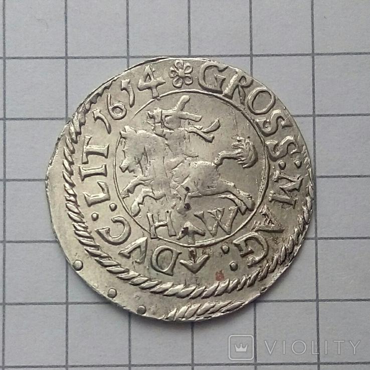 Литовський гріш 1614 року ( H-W ), фото №6