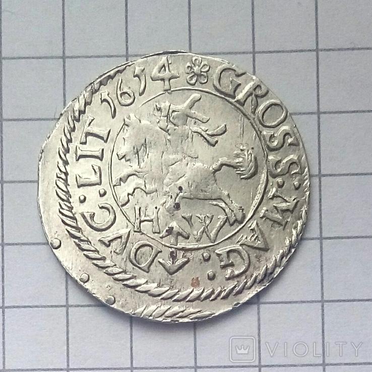 Литовський гріш 1614 року ( H-W ), фото №8