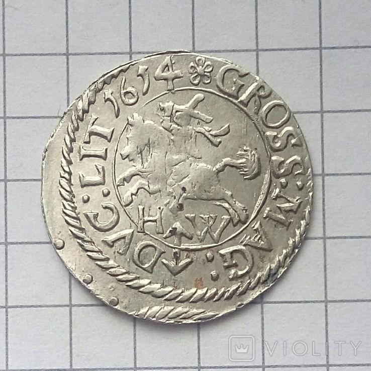 Литовський гріш 1614 року ( H-W ), фото №9