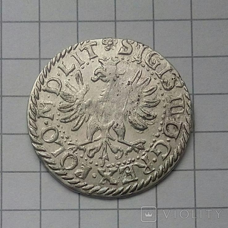 Литовський гріш 1614 року ( H-W ), фото №10