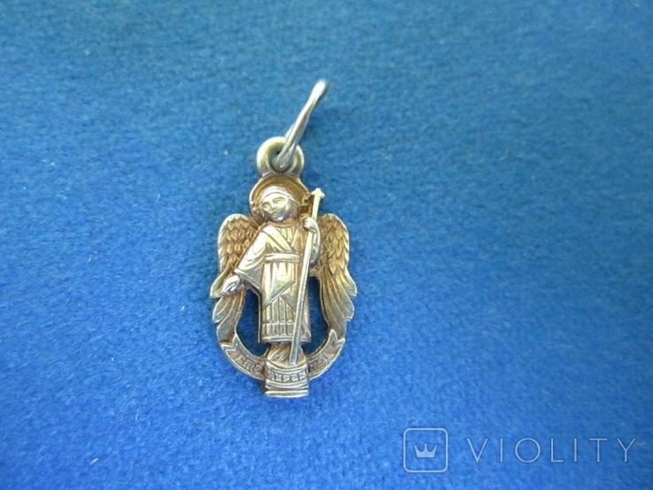 Кулончик Ангел серебро., фото №2