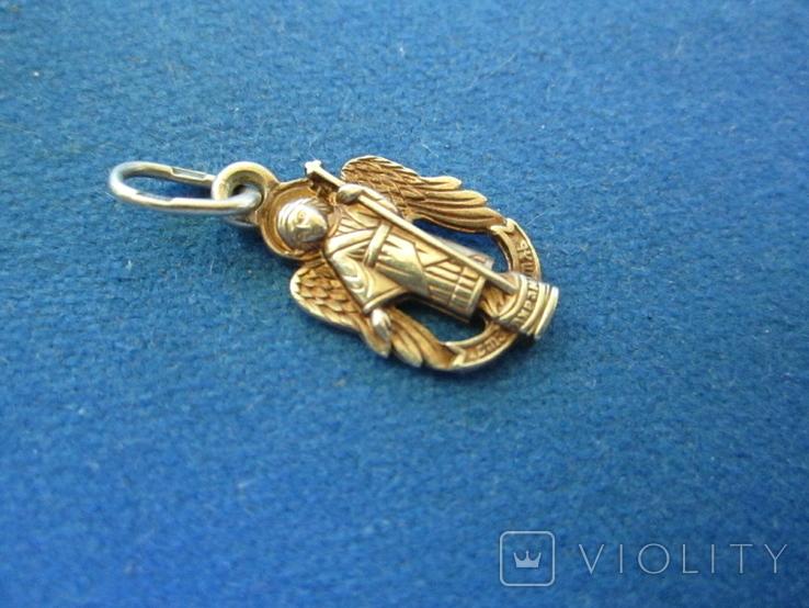 Кулончик Ангел серебро., фото №3