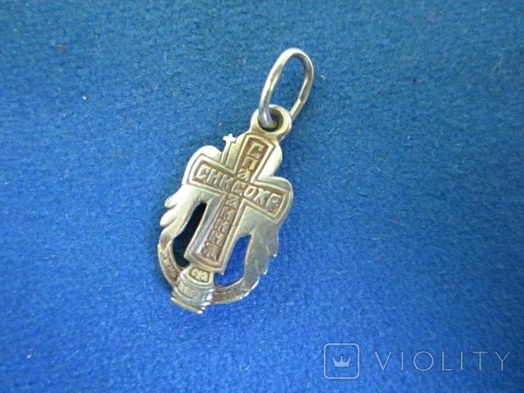 Кулончик Ангел серебро., фото №5