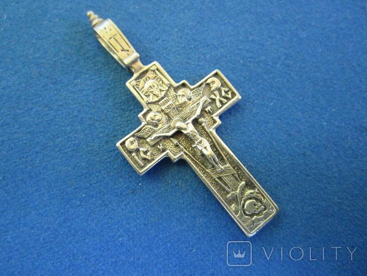 Крестик серебро., фото №3