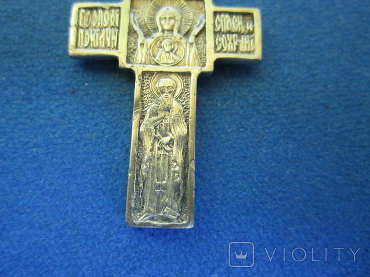 Крестик серебро., фото №10