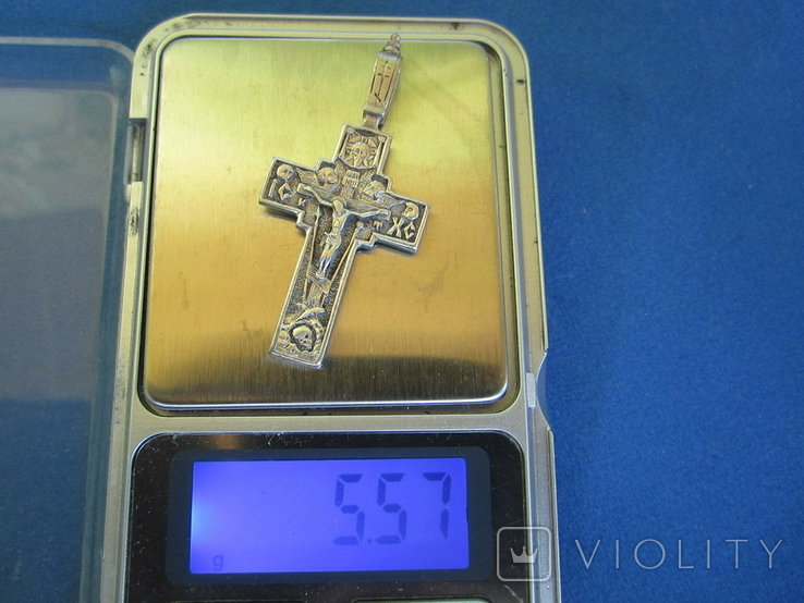 Крестик серебро., фото №11