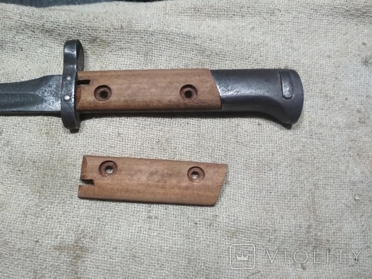 Накладки на штык нож Чех копия, фото №2