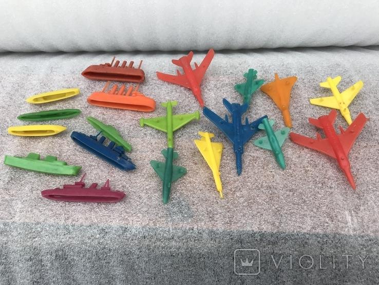 Самолеты и корабли игрушки СССР, фото №7
