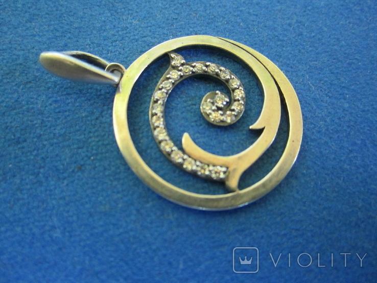 Кулон серебро., фото №3