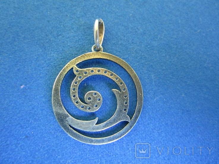 Кулон серебро., фото №5