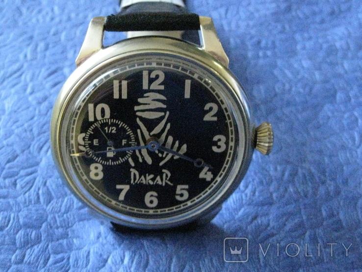 Часы Молния 3602 Дакар Рабочие на ремешке, фото №2