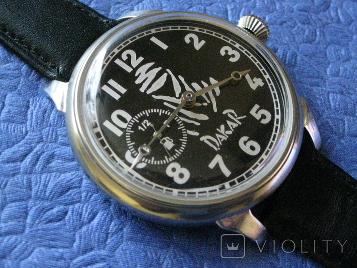 Часы Молния 3602 Дакар Рабочие на ремешке, фото №4