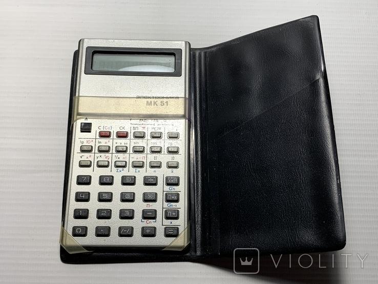 """Калькулятор """"Электроника"""" МК 51, фото №2"""