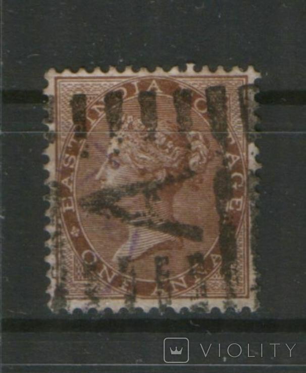 1865 Брит. колонии. Индия (Вост. Индия) Королева Виктория