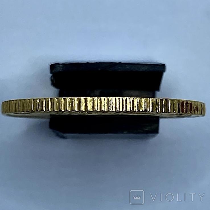 4 песо. 1868. Изабелла II. Филиппины. (золото 875, вес 6,77 г), фото №6