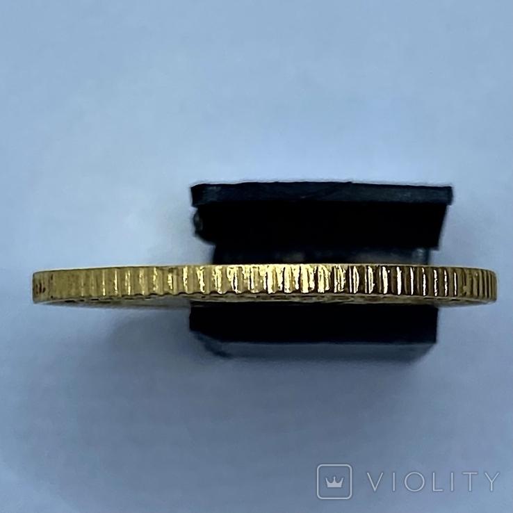 4 песо. 1868. Изабелла II. Филиппины. (золото 875, вес 6,77 г), фото №7