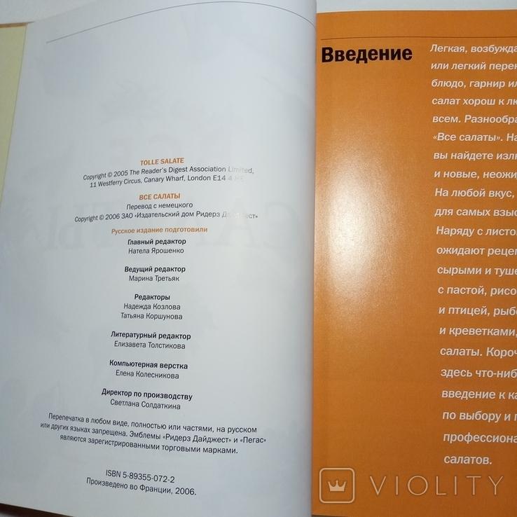 2006 Все салаты, рецепты. Кулинария (большой формат), фото №7