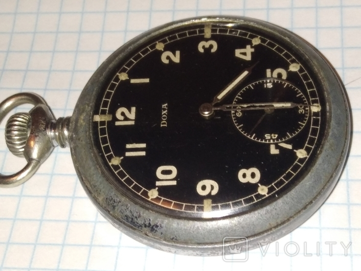 Карманные часы DOXA D H военные