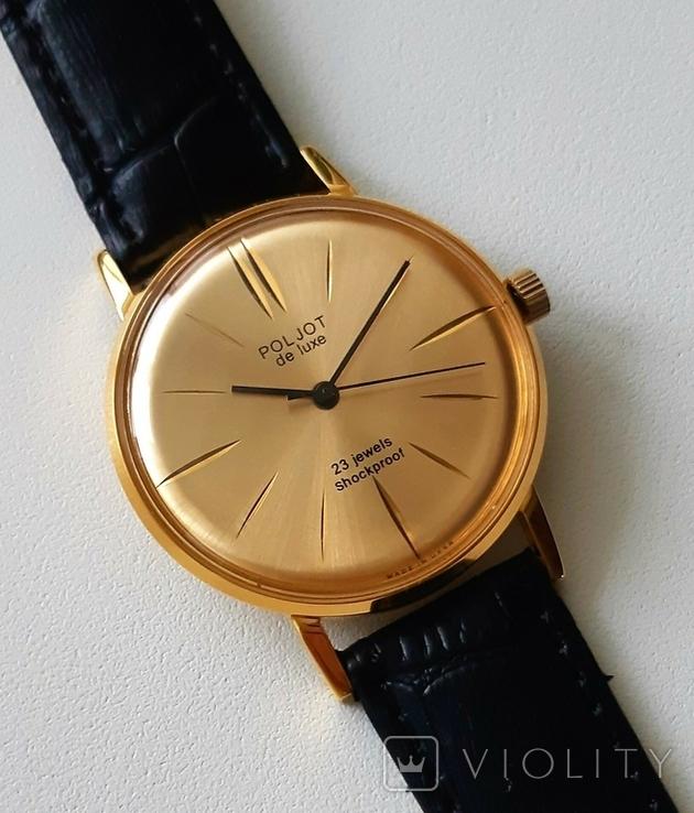 Часы наручные  Poljot de luxe, фото №2