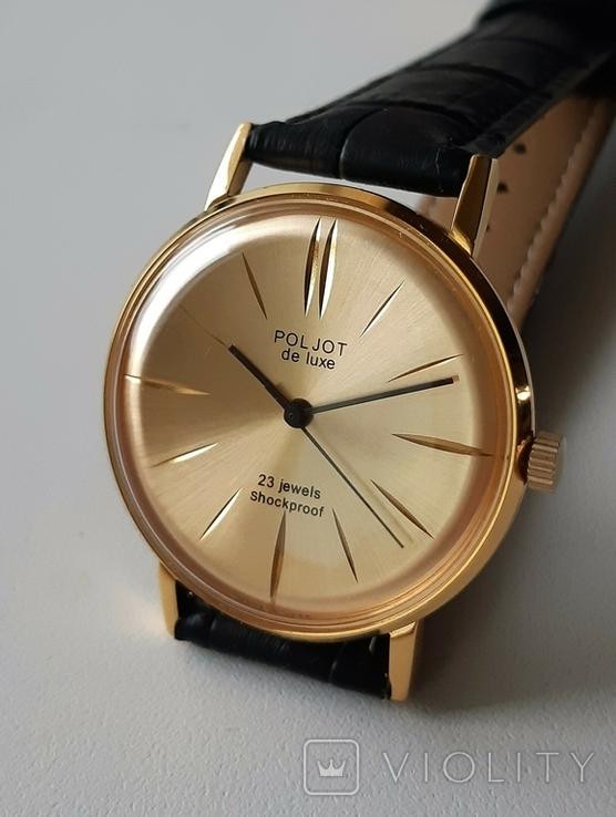 Часы наручные  Poljot de luxe, фото №5