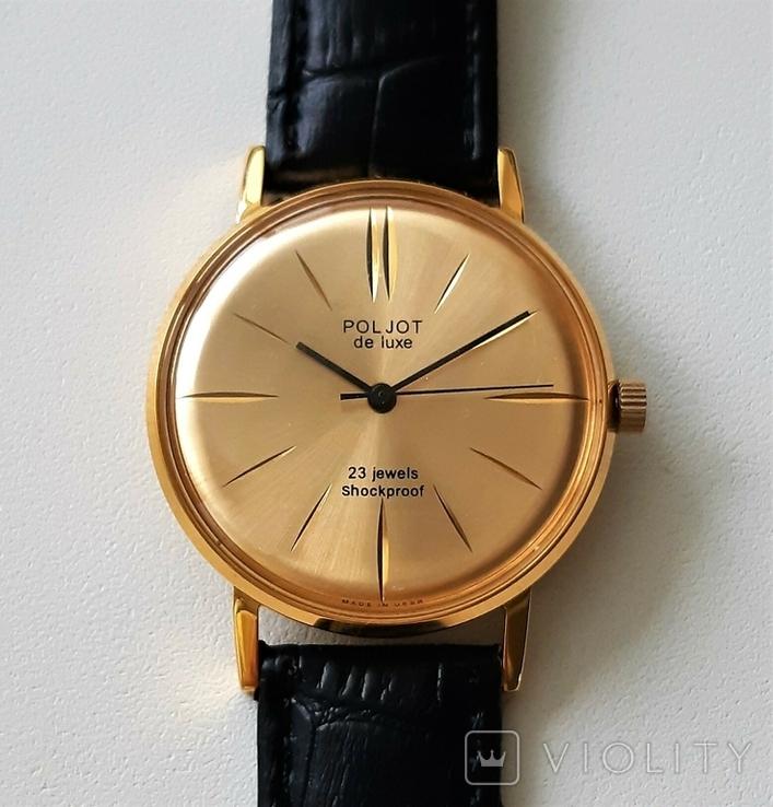 Часы наручные  Poljot de luxe, фото №6